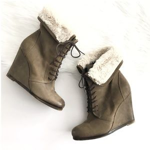 Boutique 9 Tan Booties